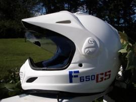 F 650 Helmet Sticker